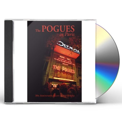 The Pogues IN PARIS: 30TH ANNIVERSARY CONCERT CD