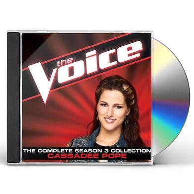 Cassadee Pope COMPLETE SEASON 3 COLLECTION CD