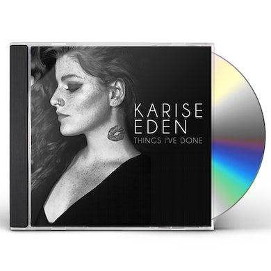 Karise Eden THINGS I'VE DONE CD