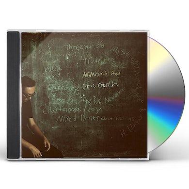 Eric Church MR MISUNDERSTOOD: DELUXE CD