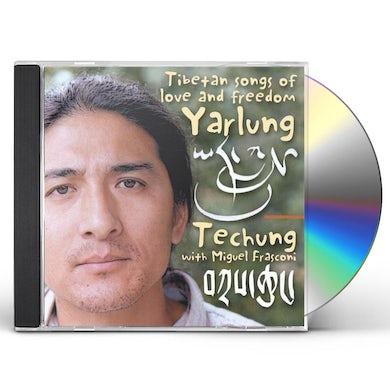 Techung YARLUNG TIBETAN SONGS OF LOVE & FREEDOM CD