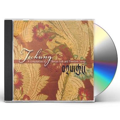Techung COMPILATION OF TIBETAN FOLK & FREEDOM SONGS CD