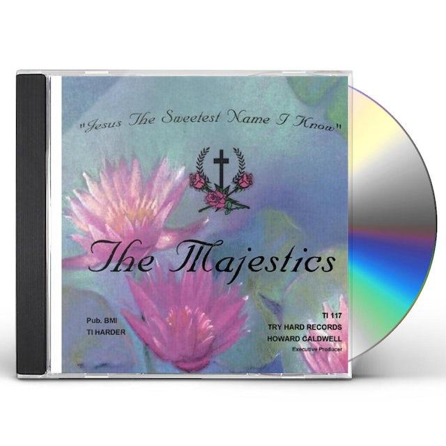 Majestics JESUS THE SWEETEST NAME I KNOW! CD