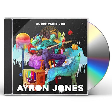 Ayron Jones AUDIO PAINT JOB CD