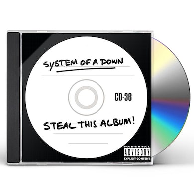 System Of A Down Steal This Album CD