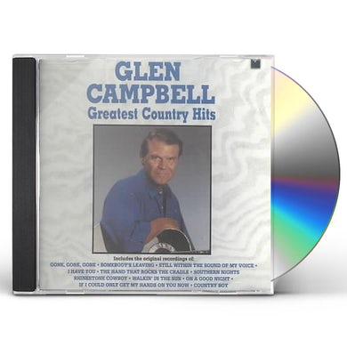 Glen Campbell GREATEST COUNTRY HITS CD