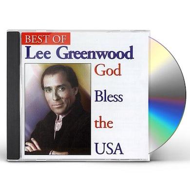 Lee Greenwood GOD BLESS THE USA CD