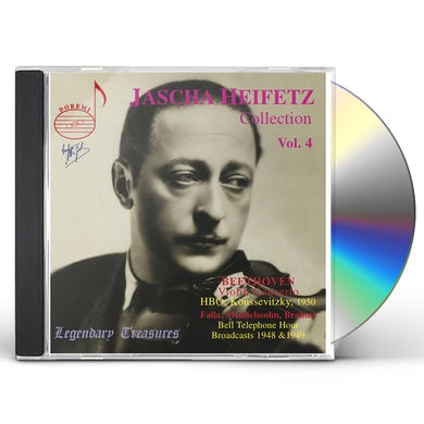 Heifetz COLLECTION 4 CD
