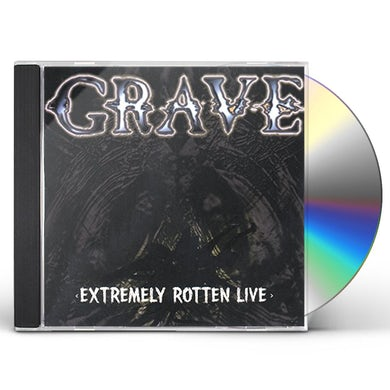 Grave EXTREMELY ROTTEN LIVE CD