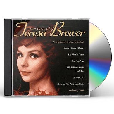 Teresa Brewer BEST OF CD