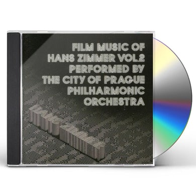 City Of Prague Philharmonic Orchestra FILM MUSIC OF HANS ZIMMER 2 CD