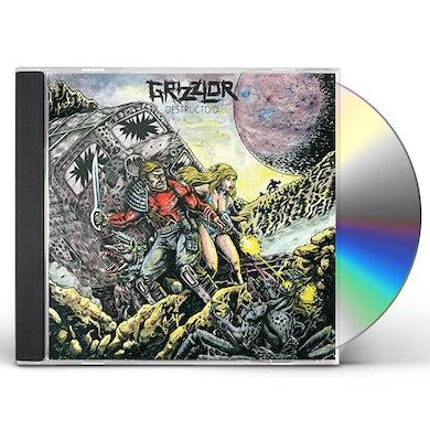 GRIZZLOR DESTRUCTOID CD