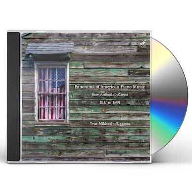 Yvar Mikhashoff PANORAMA OF AMERICAN PIANO MUSIC CD