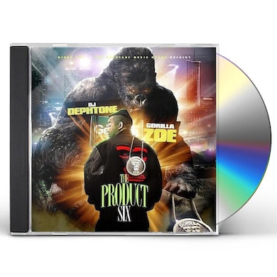 Gorilla Zoe PRODUCT 6 CD