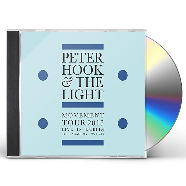 Peter Hook & Light MOVEMENT: LIVE IN DUBLIN CD