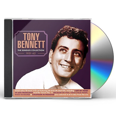 Tony Bennett SINGLES COLLECTION 1951-62 CD