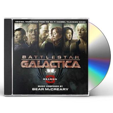 Bear McCreary BATTLESTAR GALACTICA 3 / Original Soundtrack CD