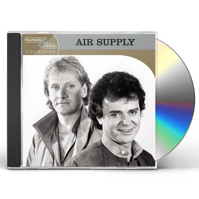 Air Supply PLATINUM & GOLD COLLECTION CD