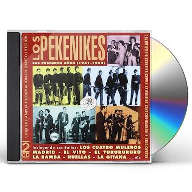 Los Pekenikes SUS PRIMEROS ANOS (1961-1965) CD