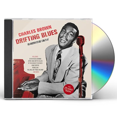Charles Brown DRIFTING BLUES: HIS UNDERRATED 1957 LP+ 15 BONUS CD