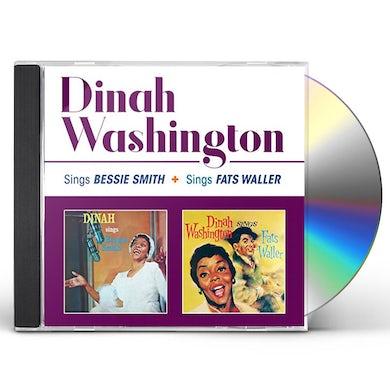 Dinah Washington SINGS BESSIE SMITH / SINGS FATS WALLER CD