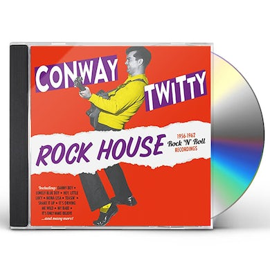 Conway Twitty ROCK HOUSE: 1956-1962 ROCK N ROLL RECORDINGS CD