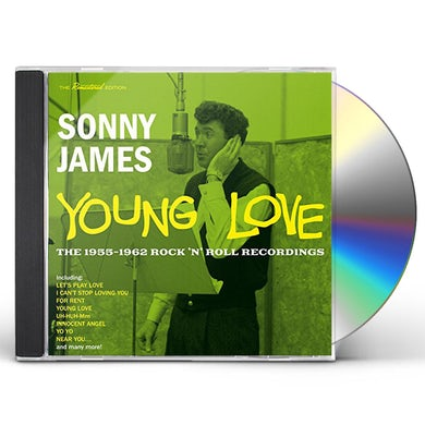 Sonny James YOUNG LOVE: 1955-1962 ROCK & ROLL RECORDINGS CD