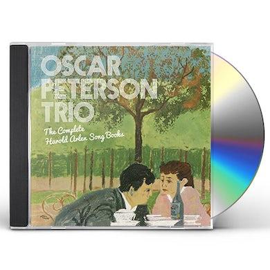 Oscar Peterson COMPLETE HAROLD ARLEN SONG BOOKS +1 BONUS TRACK CD