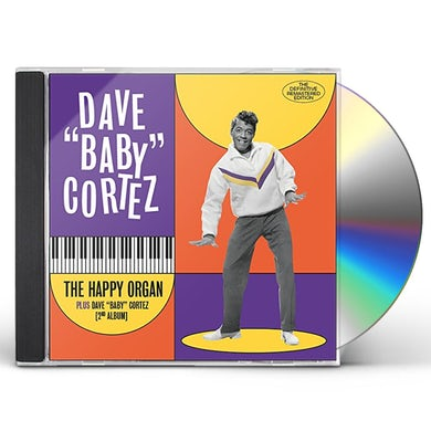HAPPY ORGAN / DAVE BABY CORTEZ (HIS 2ND ALBUM) CD