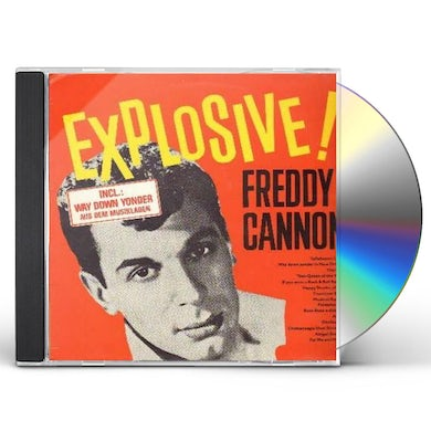 Freddy Cannon EXPLOSIVE / SINGS HAPPY SHADES OF BLUE + 8 BONUS CD