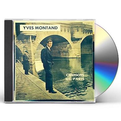 Yves Montand PARIS / CHANSON DE PARIS CD