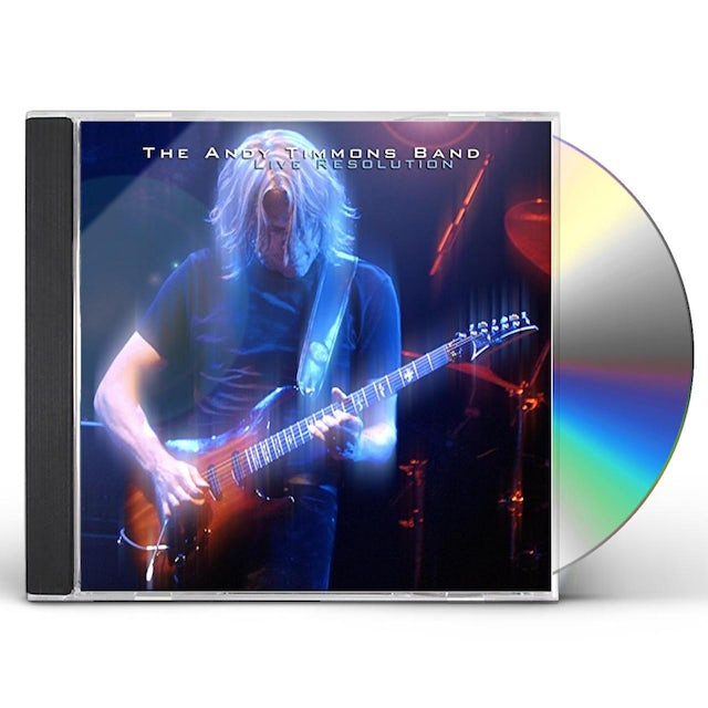 Andy Timmons LIVE RESOLUTION CD