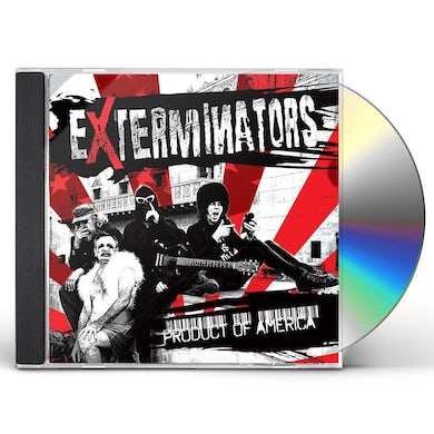 EXTERMINATORS PRODUCT OF AMERICA CD