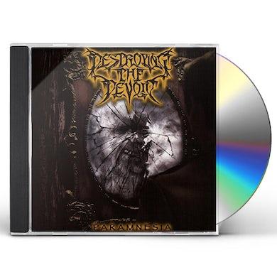 DESTROYING THE DEVOID PARAMNESIA CD