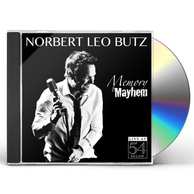 Norbert Leo Butz MEMORY & MAYHEM: LIVE AT 54 BELOW CD