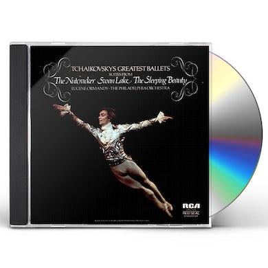 Eugene Ormandy TCHAIKOVSKY: BALLET SUITES (ROMEO & JULIET OVERTUR CD
