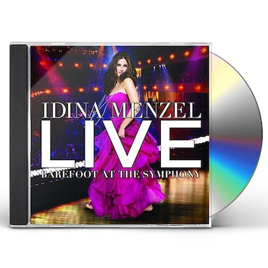Idina Menzel LIVE: BAREFOOT AT THE SYMPHONY CD