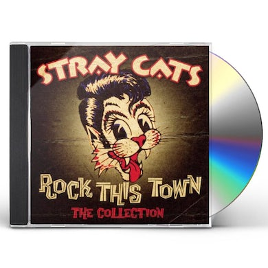 Stray Cats ROCK THE TOWN: BEST OF CD
