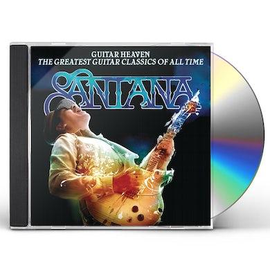Santana GUITAR HEAVEN: GREATEST GUITAR CLASSICS OF ALL TIM CD