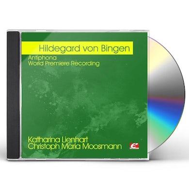 Hildegard von Bingen VON BINGEN: ANTIPHONA - WORLD PREMIERE RECORDING CD