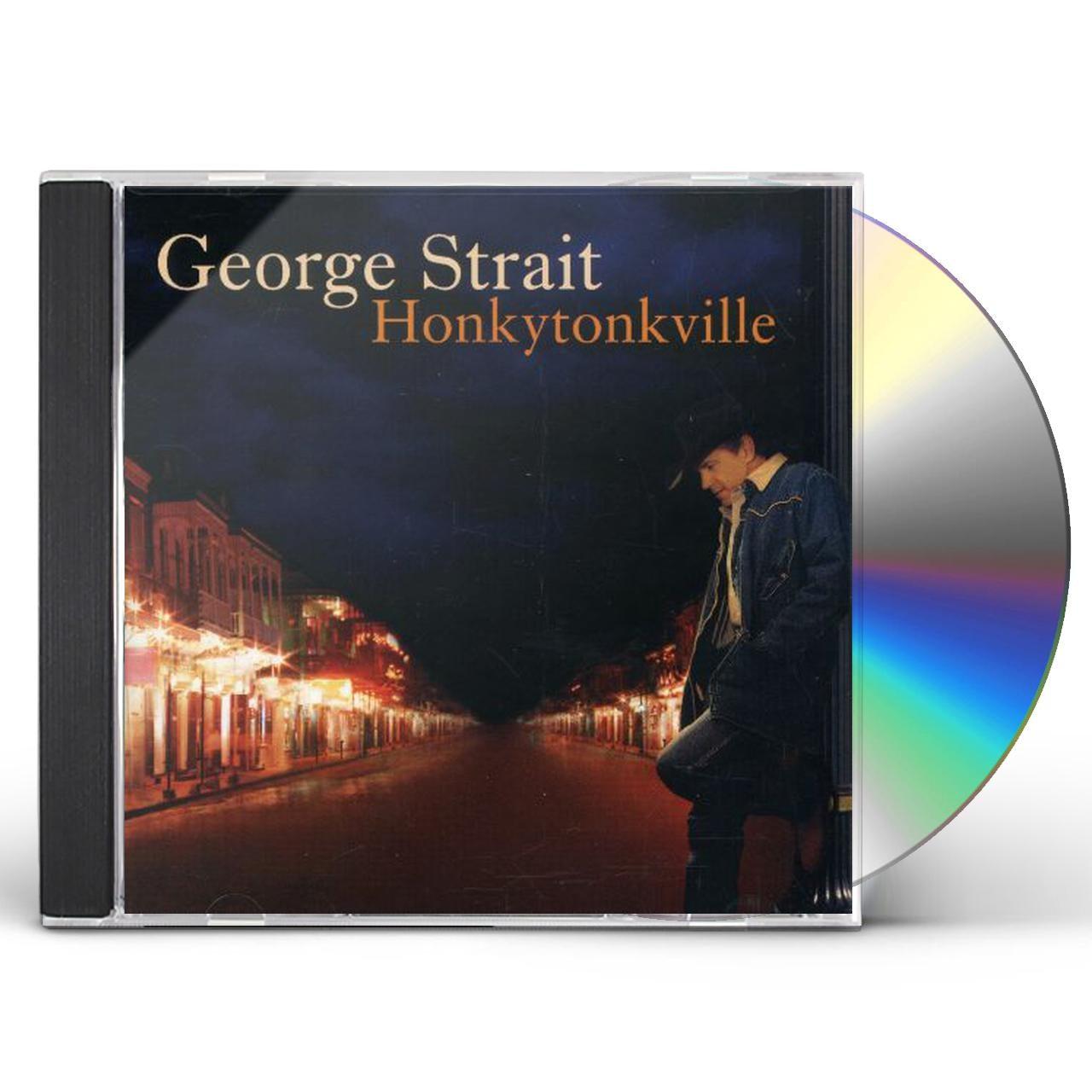 George Strait Honkytonkville Cd