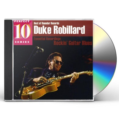 Duke Robillard ESSENTIAL RECORDINGS: ROCKIN GUITAR BLUES CD