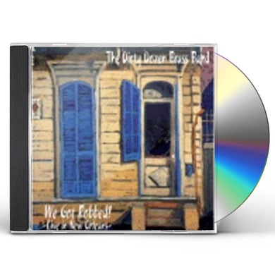 Dirty Dozen Brass Band WE GOT ROBBED: LIVE IN NEW ORLEANS CD