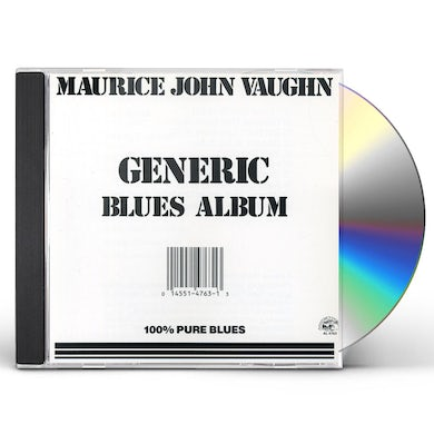Maurice John Vaughn GENERIC BLUES ALBUM CD