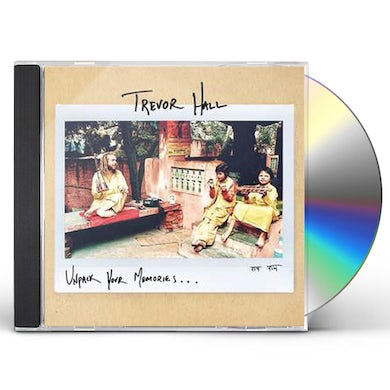 Trevor Hall UNPACK YOUR MEMORIES CD