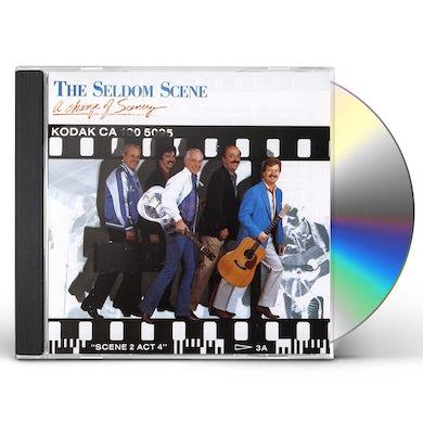 Seldom Scene CHANGE OF SCENERY CD