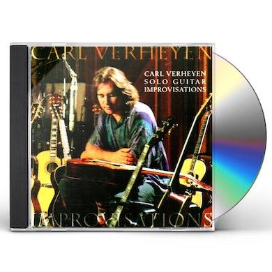 Carl Verheyen SOLO GUITAR IMPROVISATIONS CD
