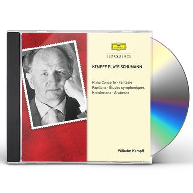 Wilhelm Kempff KAMPFF PLAYS SCHUMANN CD