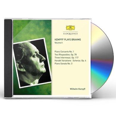Wilhelm Kempff KEMPFF PLAYS BRAHMS 2 CD