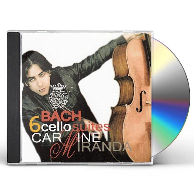 J.S. Bach 6 BACH CELLO SUITES CD